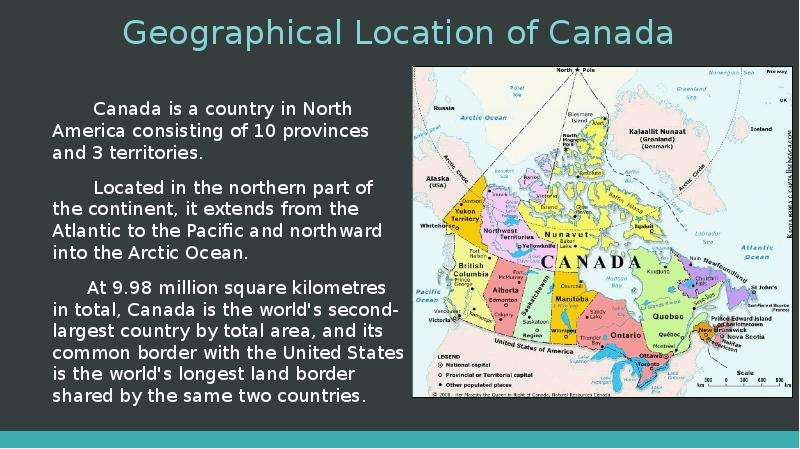 a geographical overview of canada Learn about the geography of europe, including the physical features, natural resources, politics, population, culture, environment, and climate.