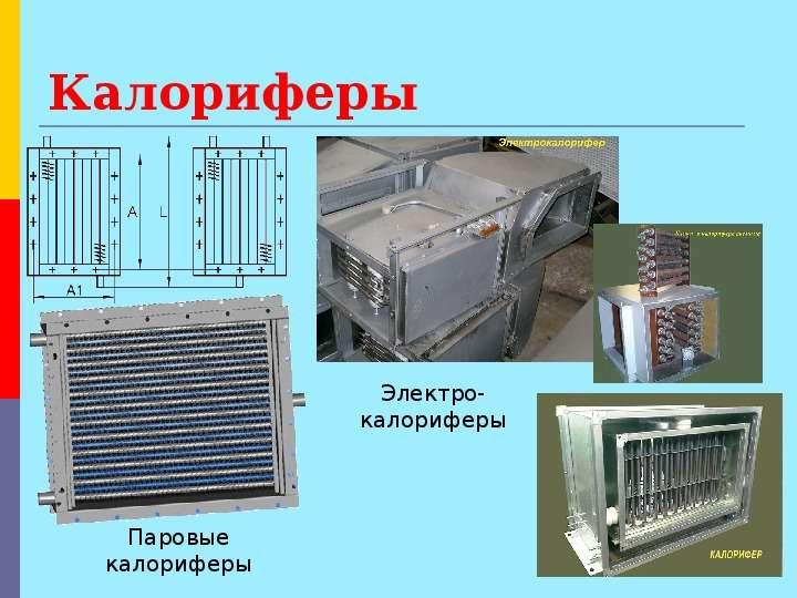 Расчет теплообменника шахтного калорифе презентация теплообменник