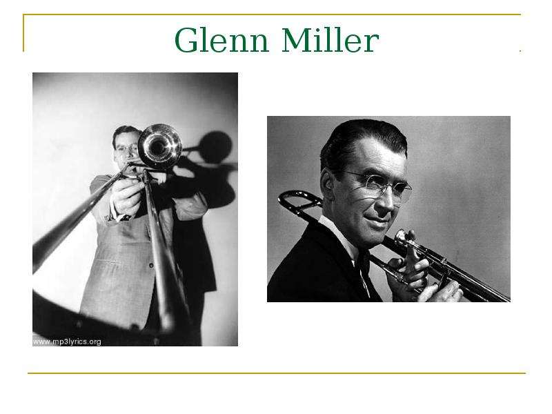 the beginnings of glenn millers musical career Get biography information about henry mancini on career as a pianist-arranger for the glenn miller orchestra of a musical picture, for the glenn miller.