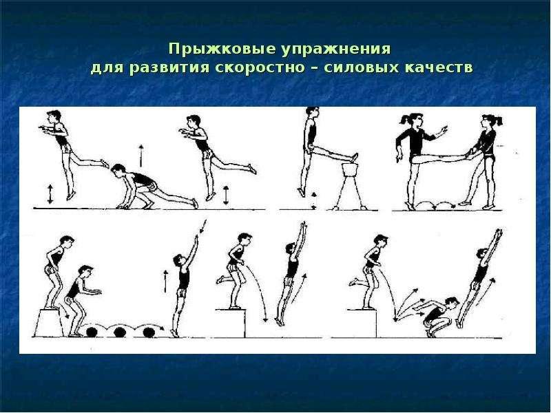 Комплекс упражнений для развития скорости