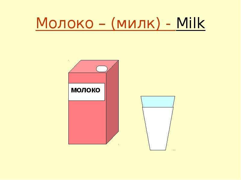 минимум молоко картинка на английском отдыха стефанидинодаре