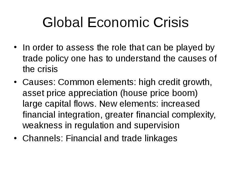 economic globalisation and the role of Economic globalization is the increasing economic interdependence of national economies across music has an important role in economic and cultural development.