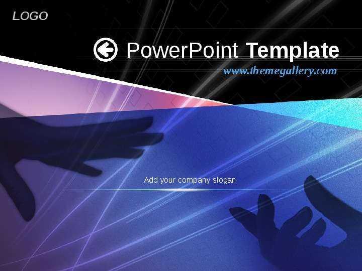 PowerPoint Template  Add your company slogan, слайд №1