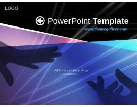 PowerPoint Template  Add your company slogan