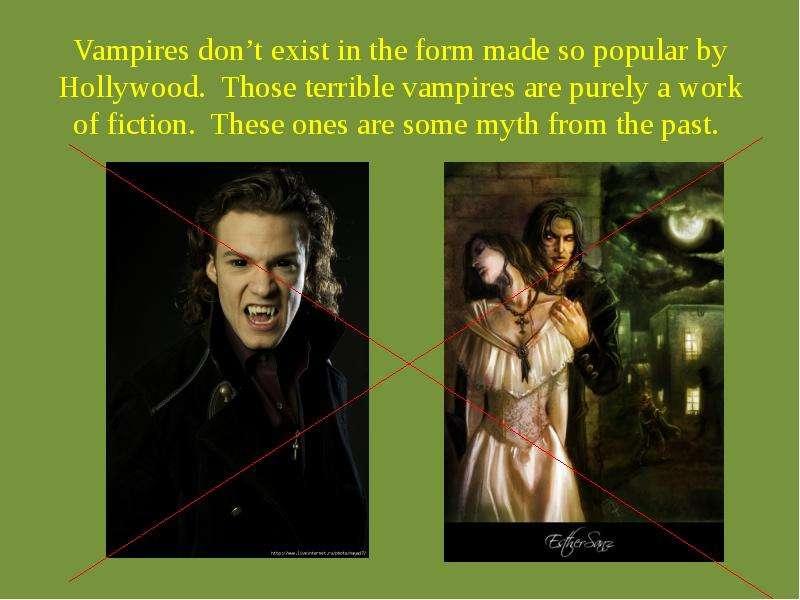 vampires essay