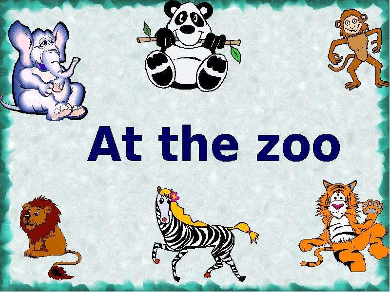 dialogue at the zoo