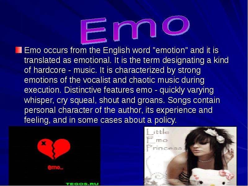 emo culture essay Read & discuss all things emo scene such as emo community lifestyle & culture including false self harm suicide links - soemocouk emo community.
