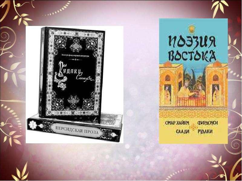 Поэтика есенинского цикла «Персидские мотивы»., слайд 4