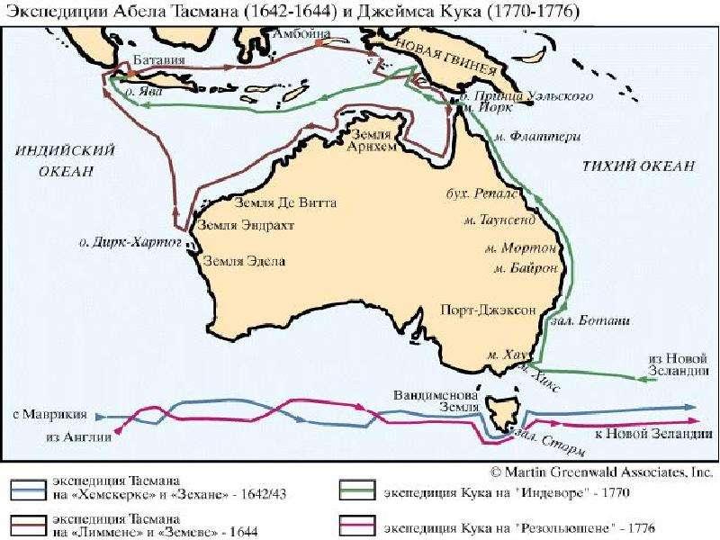 По географии История открытия Австралии, слайд 3
