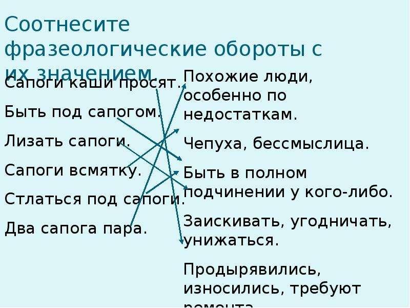 Словарная работа на уроках русского языка, слайд 23