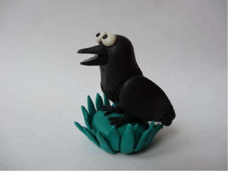 Птицы своими руками из пластилина