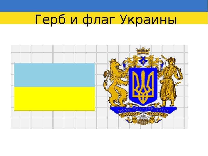 Картинки украинского флага и герба, приколы для детей