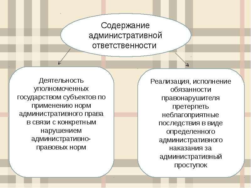 Понятие, особенности, двусубъектность административной ответственности, слайд 4