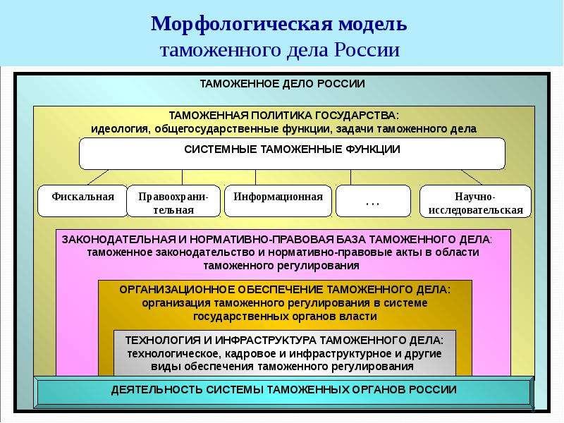 Цели кадровой политики таможенных органов