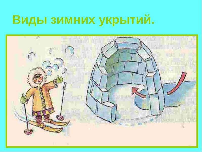 Презентация Виды зимних укрытий - скачать презентацию