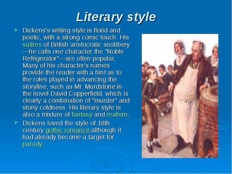 literary styles of writing From almost the beginning of his writing career, hemingway's distinctive style occasioned a great deal of comment and controversy basically, his style is simpl.