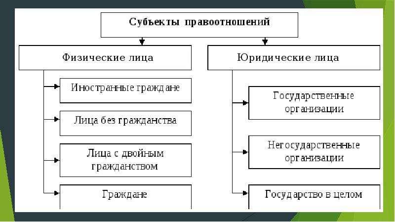 субъекты бюджетного права шпаргалка