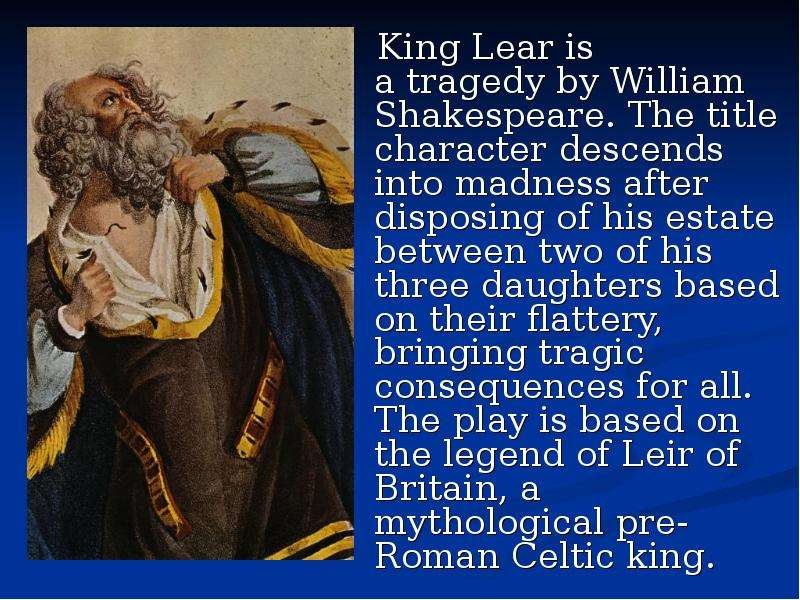 an analysis of the deceit betrayal and meaningless promises in king lear by william shakespeare