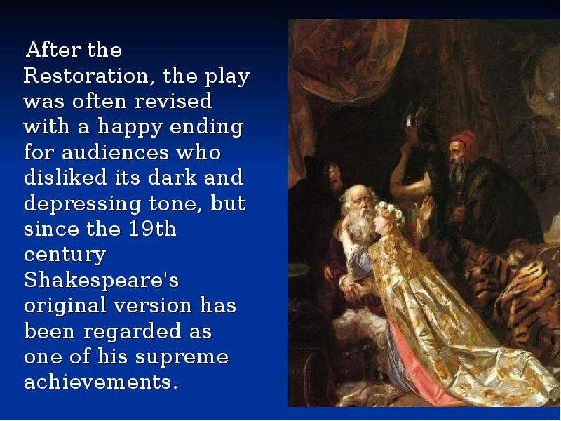 king lear is a play whose