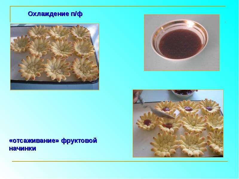 Приготовление пирожного «