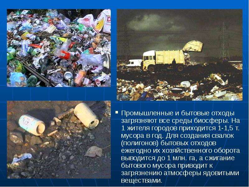 Деятельность человека и глобальные экологические проблемы, слайд 30