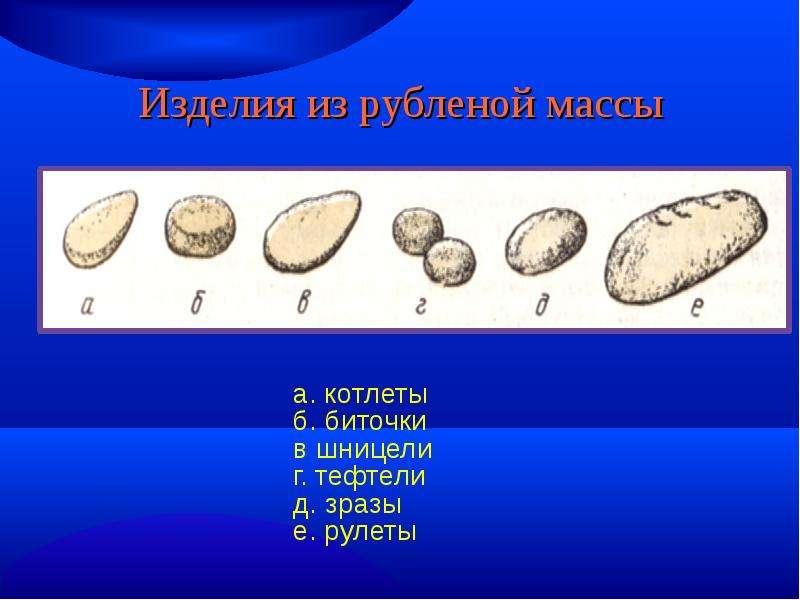 какой п/ф из каши имеет размер диаметром 6 см толщиной 2-2 5см