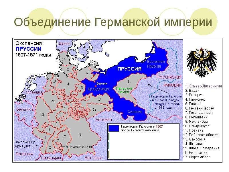 Объединение Германской империи