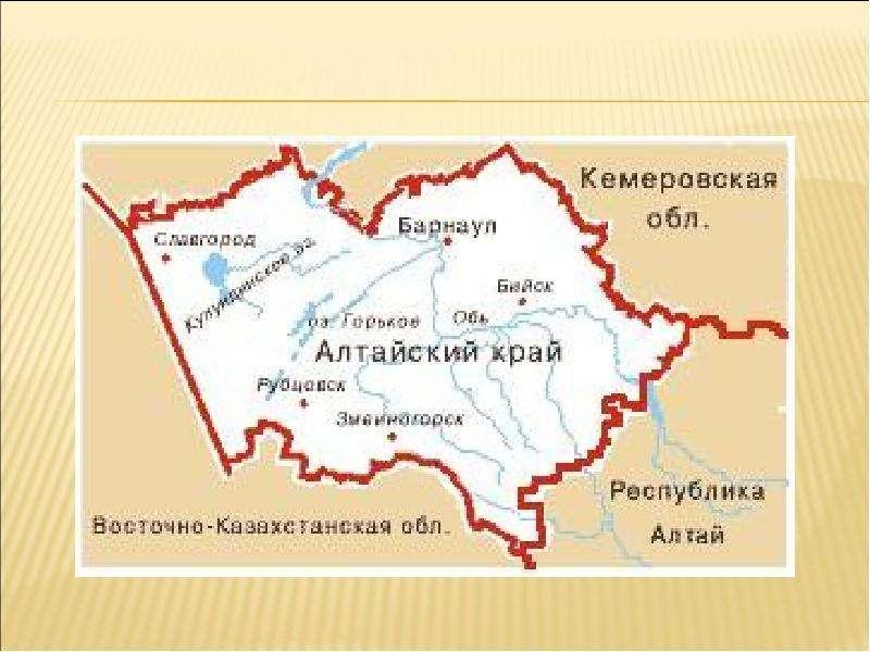 Где находится алтайский край на карте