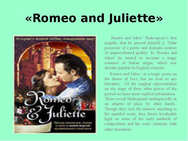 romeo and juliet thematic dissection Romeo and juliet symbolism, imagery, & motifs definition and examples light vs dark imagery throughout the play light and dark imagery is repeated example.