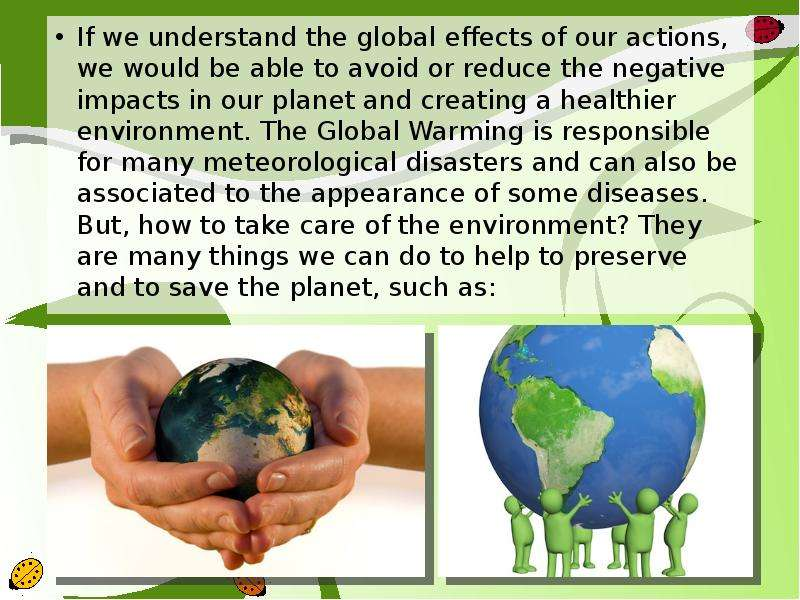 our impact on the environment essay There have always been discussions about the human impact on the environment and how the destroy our environment essay on human impact on the environment.