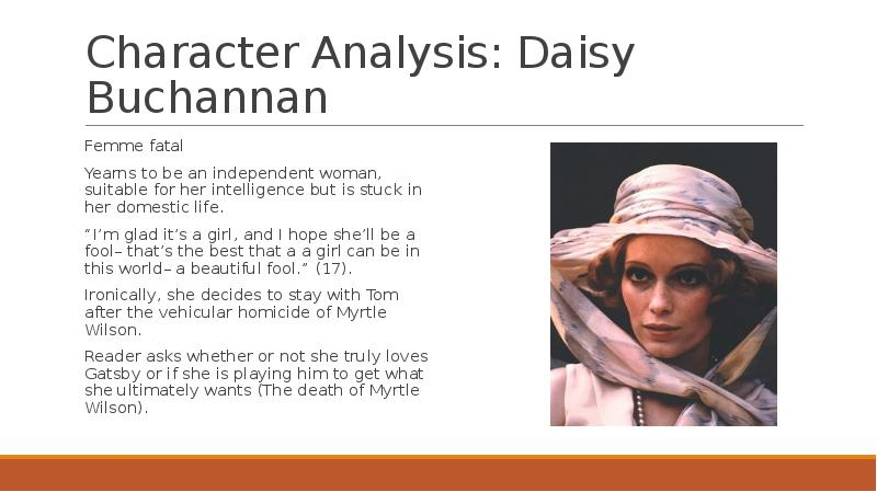 analysis of daisy of the great Analysis of chapter 1 of the great gatsby by f scott fitzgerald.