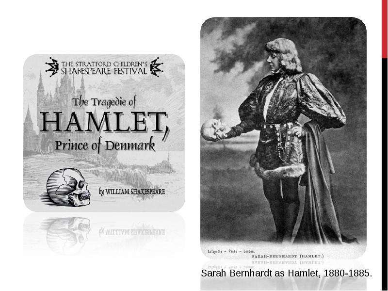 the different personality traits of hamlet in tragedy of hamlet the prince of denmark by william sha Misogyny in hamlet in the play, hamlet, prince of denmark, only two members of the cast are female characters one, gertrude, is projected as an incestuous, cold-hearted, whore.