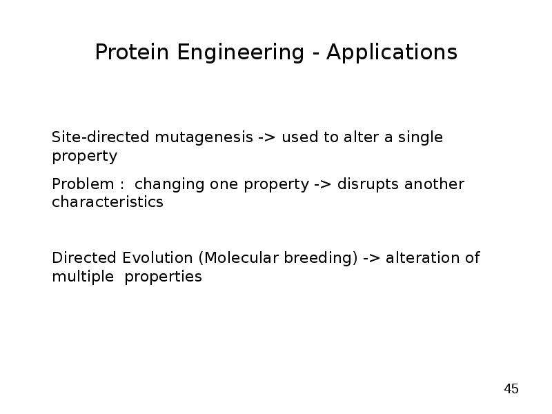 protein engineering by semisynthesis Read more about a promiscuous split intein with expanded protein engineering applications genomic targeting of epigenetic probes using a chemically tailored cas9 system tue, 01/24/2017 - 17:24 -- hwadmin.