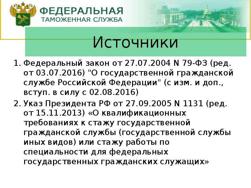 Это изображение товара федеральный закон о государственной гражданской службе российской федерации из категории