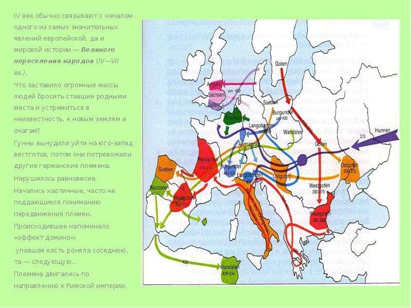 IV век обычно связывают с началом одного из самых значительных явлений европейской, да и мировой ист