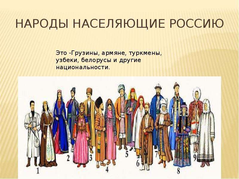 Ответы ru доклад народы россии для детей задали ребенку  Народы нашей страны 3 класс реферат