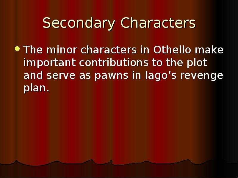 a focus on the character lago in william shakespeares othello
