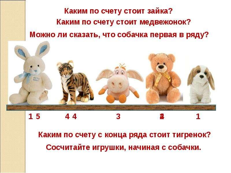 Подготовка к изучению чисел и действий с ними, слайд 6