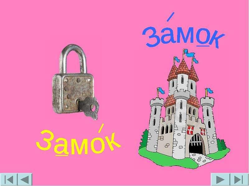 Знакомство Со Словом Замок