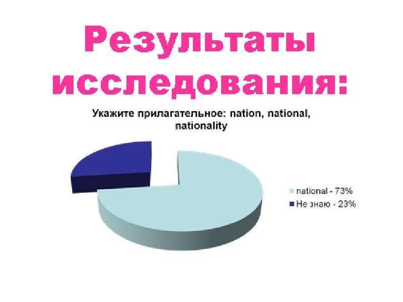 Имена прилагательные в английском и русском языках, слайд 17