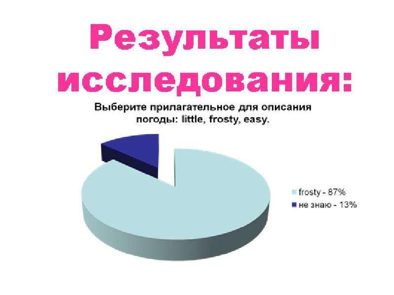 Имена прилагательные в английском и русском языках, слайд 18