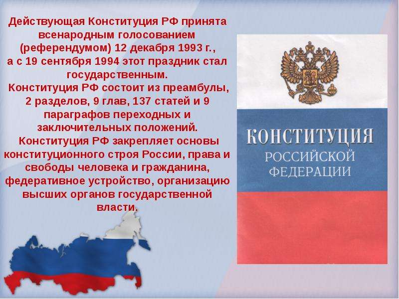 День конституции рф история праздника
