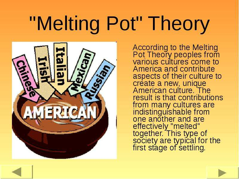 two years in the melting pot essay Bilingual education and the melting pot: in this essay in our humanities series it had been two years in the making.