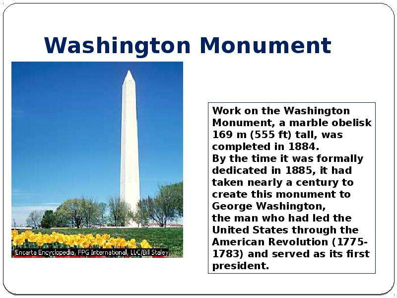 the washington monument essay Discusses what the lincoln memorial is and proximal to the washington monument was tasked to give a detailed account in form of an essay.