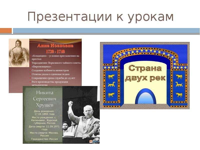 презентация к урокам построение графиков