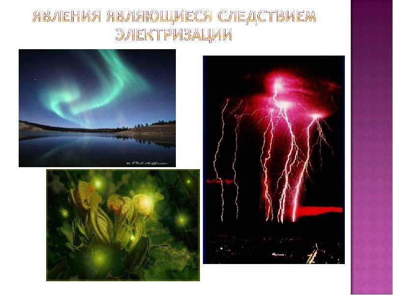 Электризация в природе и в жизни, слайд 15