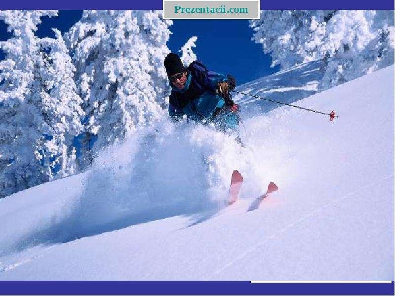 Зимние виды спорта, слайд 12