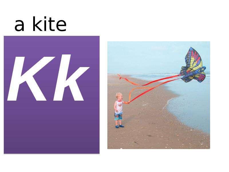 a kite Kk