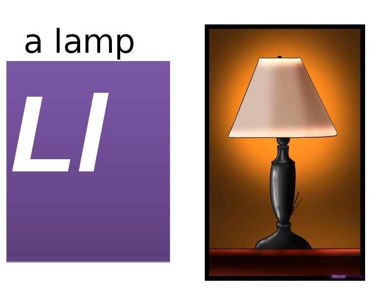 a lamp Ll