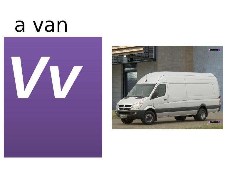 a van Vv